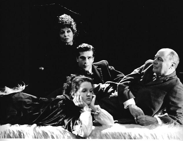 PAUL NEGREL IN GERMINAL, PAINES PLOUGH, 1988 (WITH lois baxter, catherine cusack, godfrey jackman)