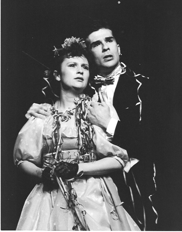 lysander IN A MISDUMMER NIGHT'S DREAM, OLDHAM, 1986 (WITH SADIE SHIMMIN)