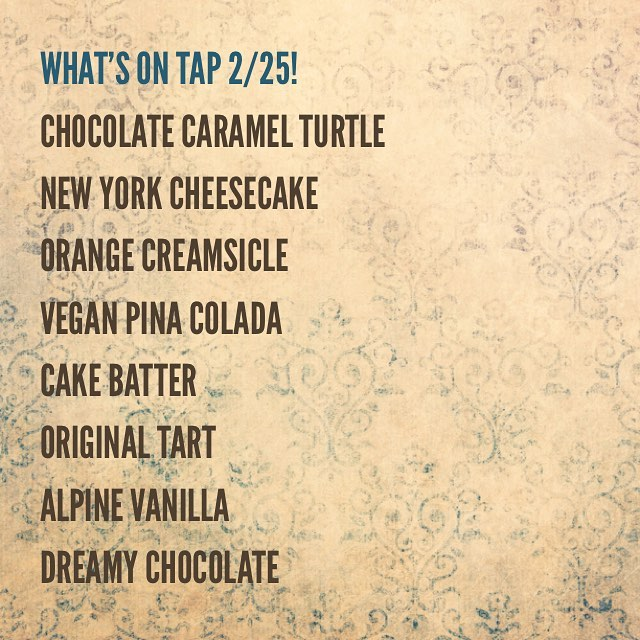🍦What's on tap #milwaukee🍦