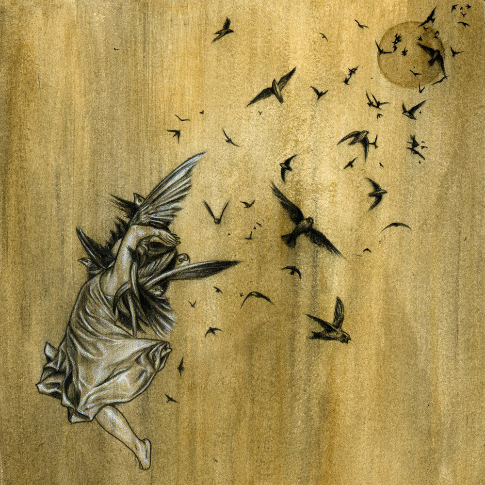 "Wax Wings, ""Swarm"" album cover"