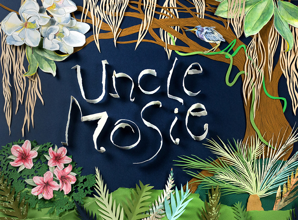 Uncle Mosie, banner/logo design