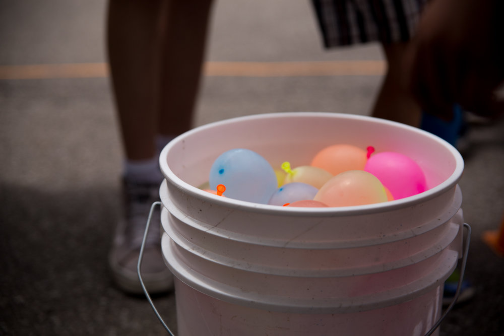 The Water Balloons Where Definitely the Biggest Hit.