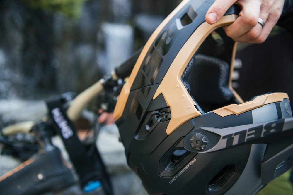 BELL HELMETS - Product Launch for the 2018 Helmet Line, The Sixer and Super DH. Whistler, Canada. For coverage in SPOKE.