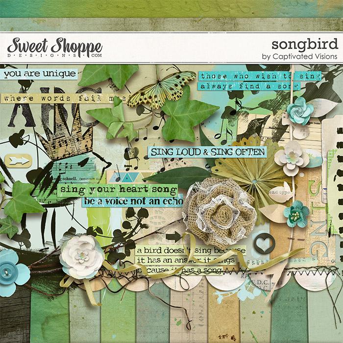 Songbird Digital Scrapbook Kit
