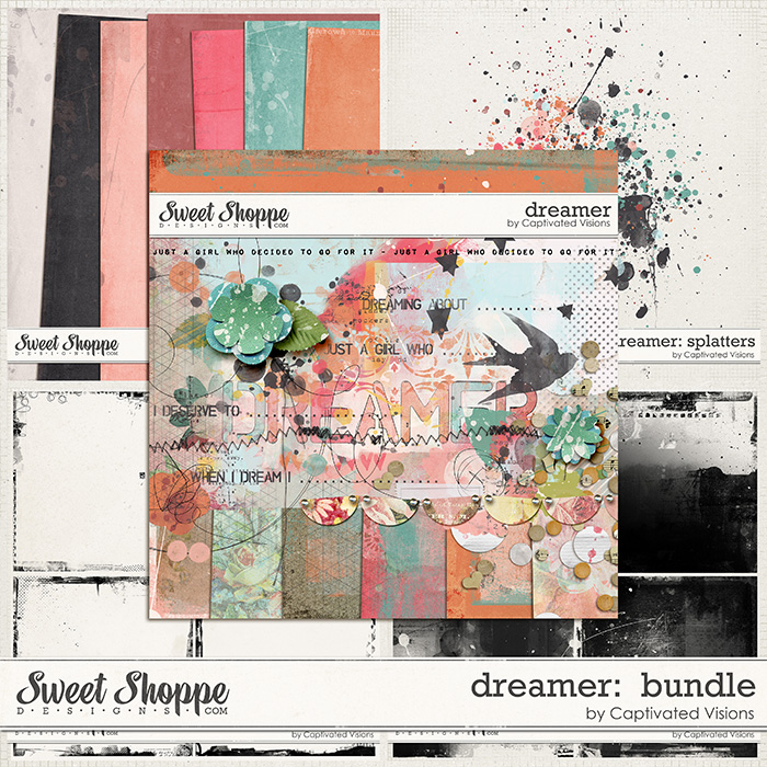 Dreamer Digital Scrapbook Collection by Captivated Visions