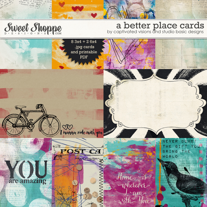 Digital Scrapbooking Product by Captivated Visions
