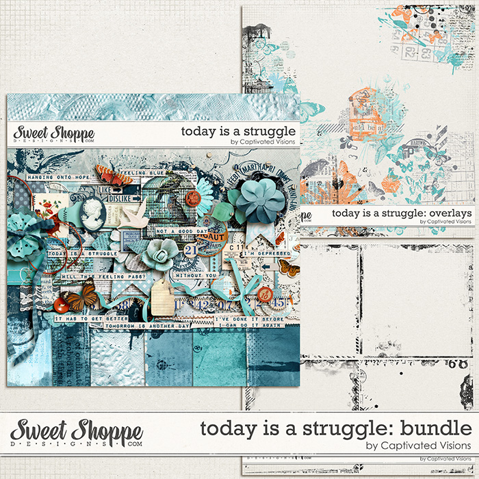Digital Scrapbook Kit by Captivated Visions