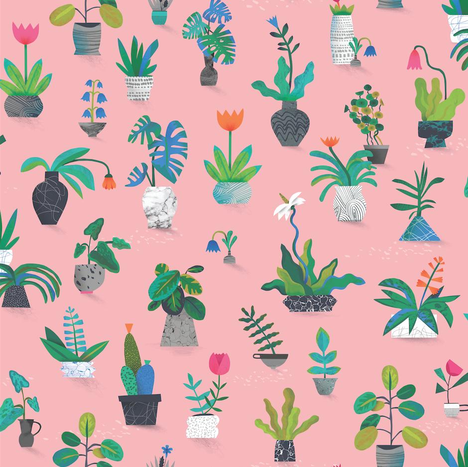 Plant Pots by Natasha Durley