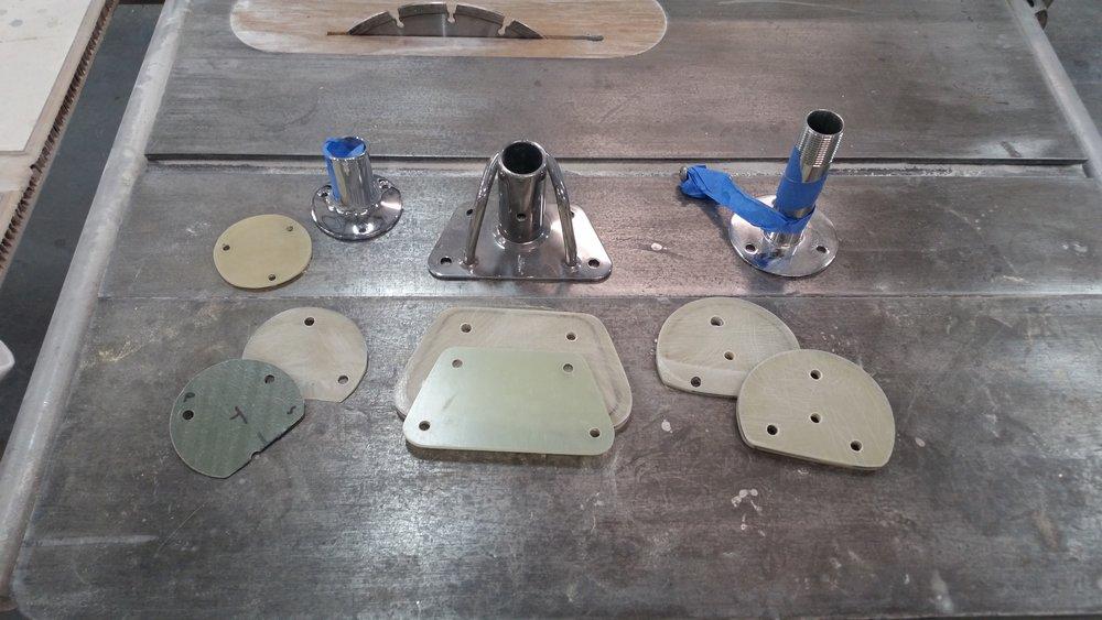Backing plates