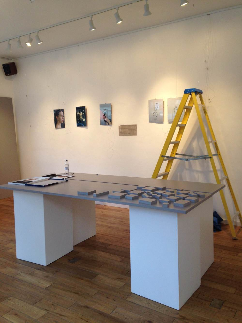Slowly, bit by bit the exhibition layout is taking shape