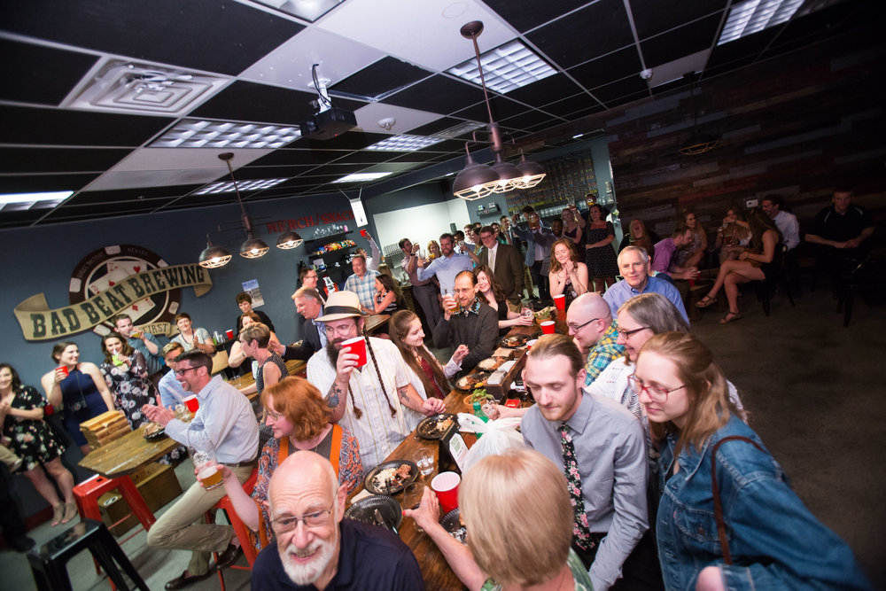 Party in the taproom