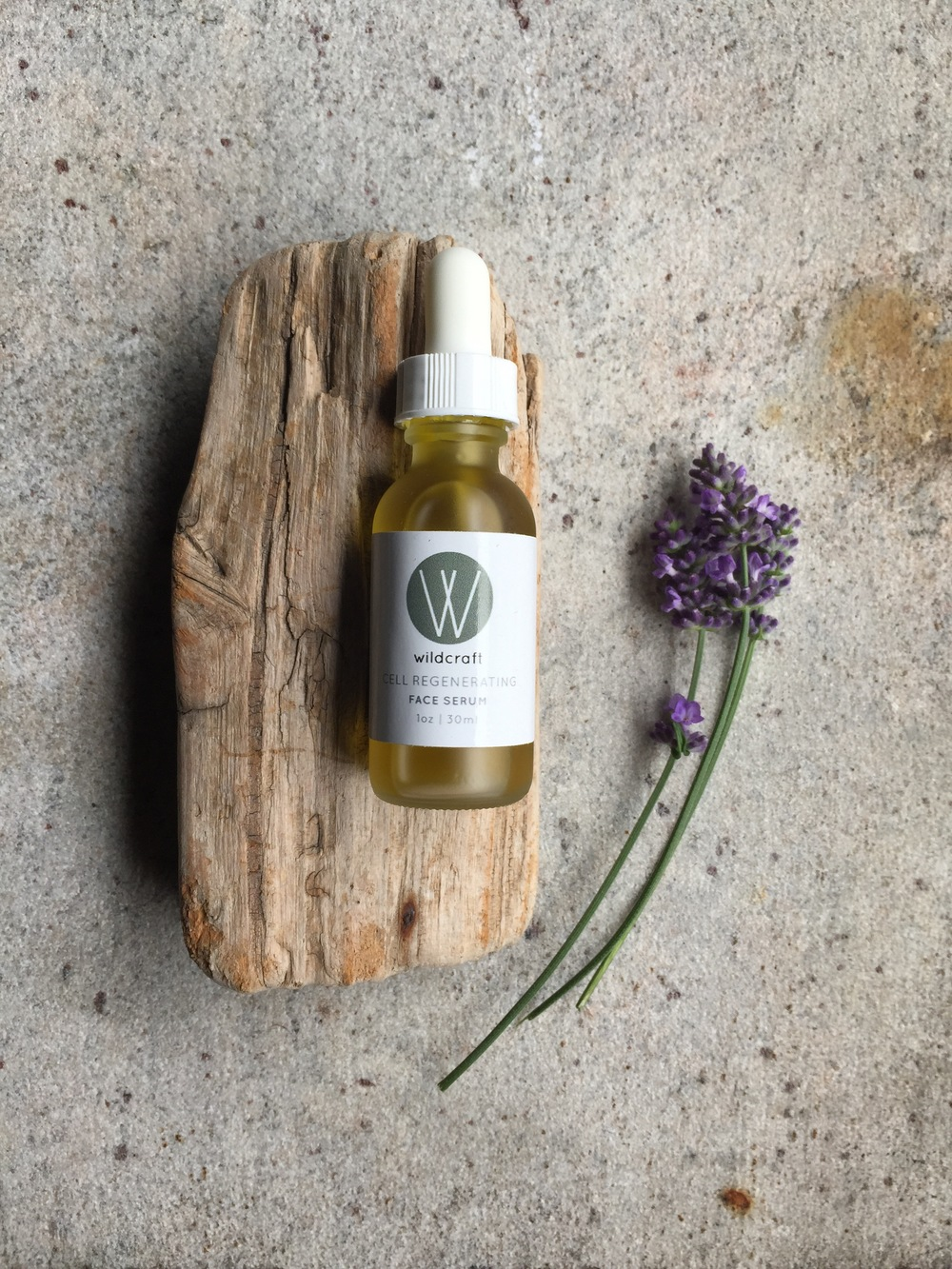 Wildcraft's Cell Regenerating Face Serum is housed in a frosted 1 oz./30 ml bottle with a white dropper. The serum retails for $28. Wildcraft sent me their Cell Regenerating Face Serum and Lemongrass Body Cream for review.