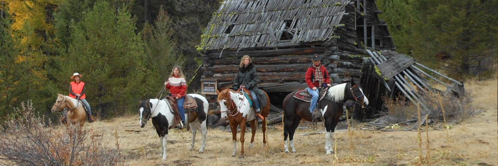 Kettle Range Outfitting & Guiding offers authentic back-country guided adventures on horseback.