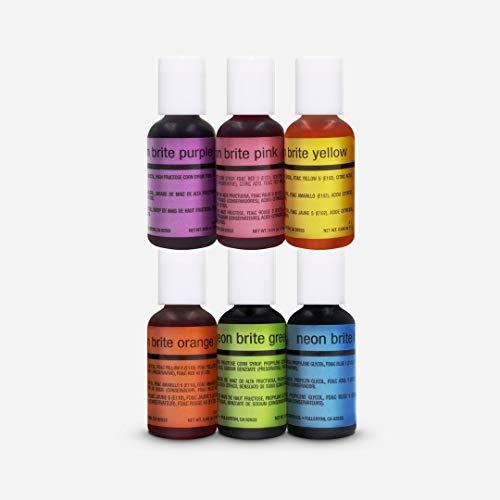 6-Pack Metallic Airbrush Food Coloring Set — California Home ...
