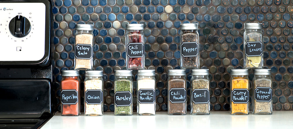 Just a few tips:   Aside from storing (and using) this Italian Herb Spice Mix with our Square Glass Spice Jars, it is important to note that you cannot freeze the spice mix just so they will last longer. The flavors of some herbs and spices may change if they get frozen. To store your spice jars properly, if a dark place isn't really possible, keep them in a place away from direct heat and sunlight.