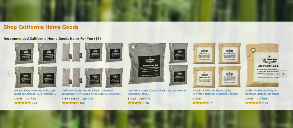 Now if you don't know where to find the best bamboo charcoal bags, then you're in the right place! The  California Home Goods Odor Eliminator Bags  are eco-friendly, made from durable materials, reusable for up to 2 years, and effectively work 24/7. So look no further and buy your anti-stink guards right here: