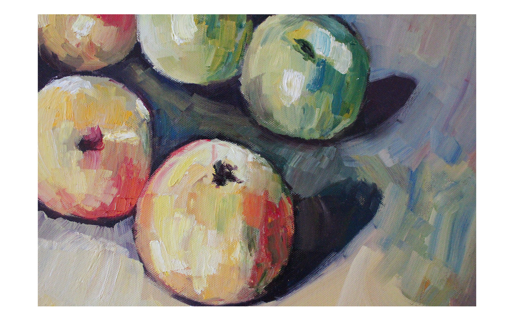 Imitation: Cézanne's Apples