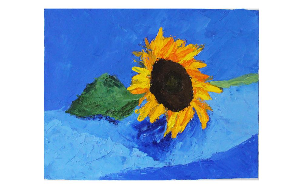 Still Life: Sunflowers