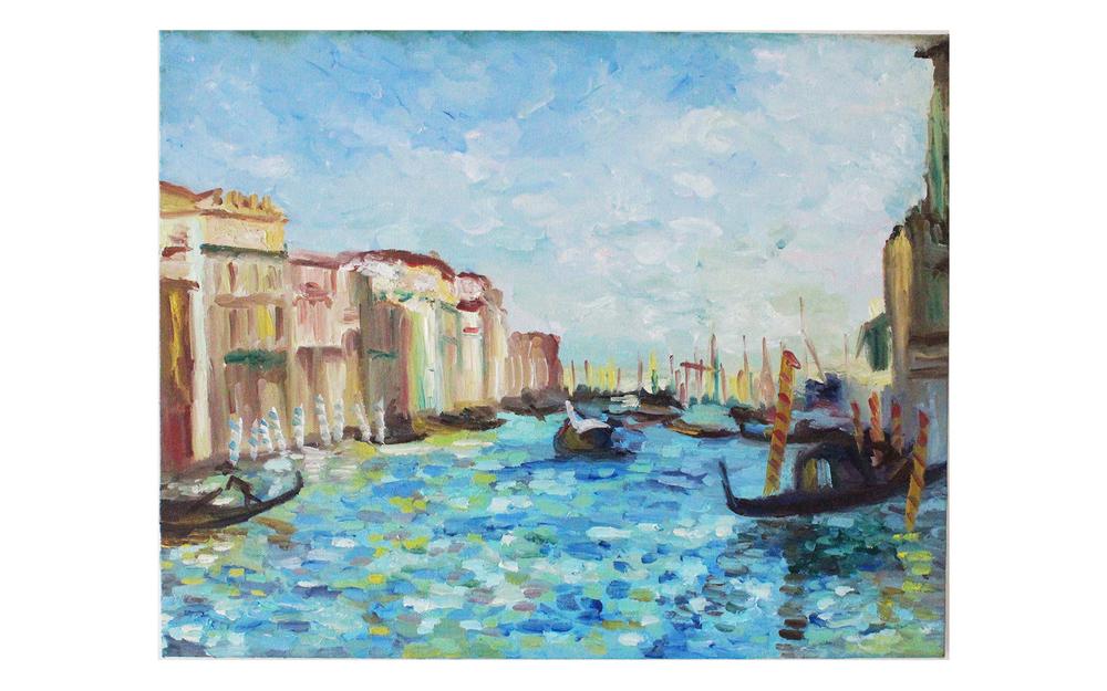 Imitation: Renoir's Grand Canal