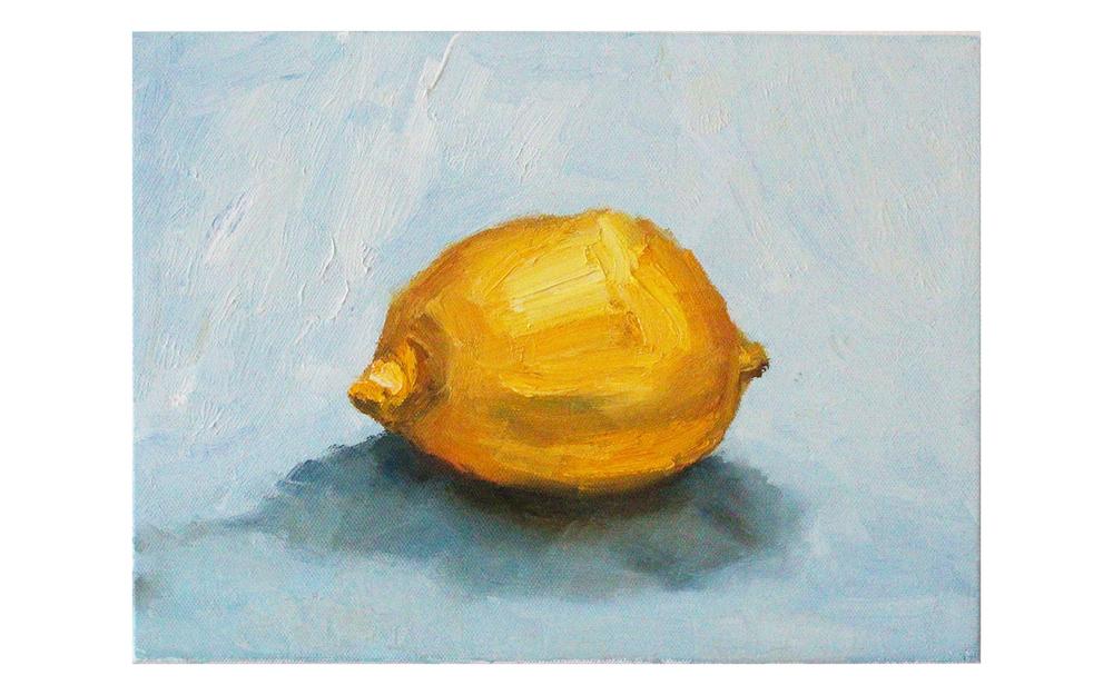 Still Life: Lemon