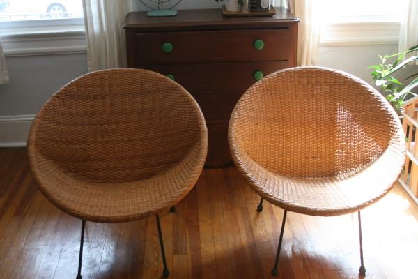 Mid-Century Pod Chairs