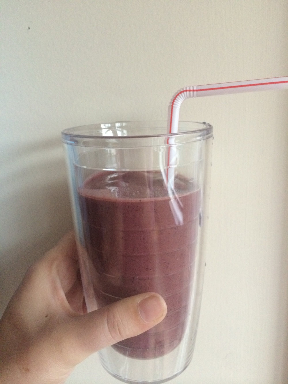 This morning's smoothie