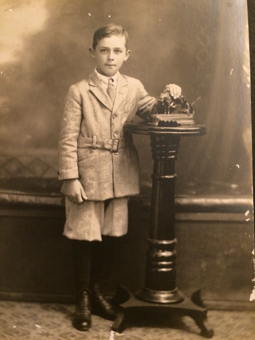 My young grandfather, just around the time he'd lose his eye.