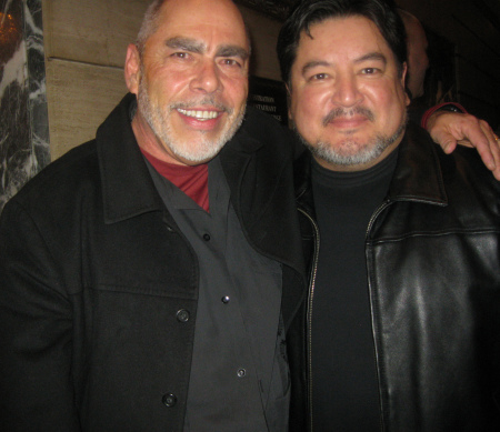 Jimmy Santiago Baca and Richard Vargas in Chicago, 2012