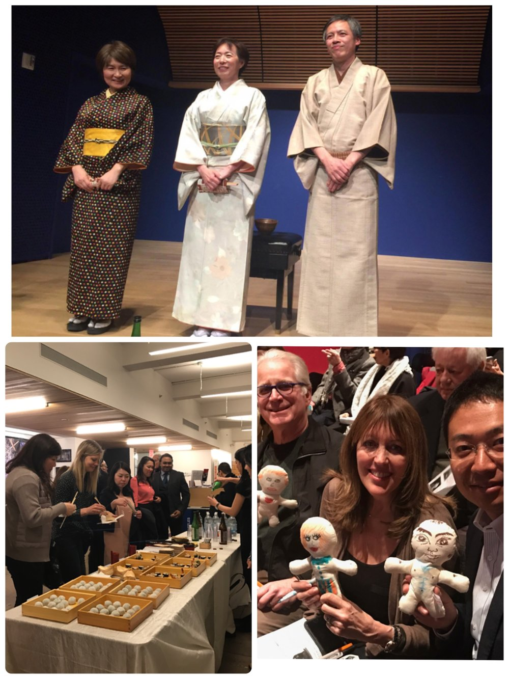 What a fun evening it was!    With your generosity, we raised $2,500+!! Hope everyone enjoyed the Rakugo performance as well as Soba-sushi, Matcha Mochi and Manzairaku Sake. Please visit our photo gallery or FB MSTERIO page to see more pictures. In May and June there are a few exciting events coming up. We cannot wait to see you!   For further information, visit our FB page as well as our Blog page. Any and all ideas where to send MSTERIO dolls to,  we'd love to hear from you!
