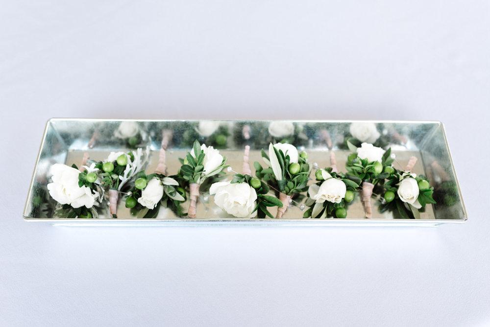 Bowerbird Flowers - boutreniere - spring wedding
