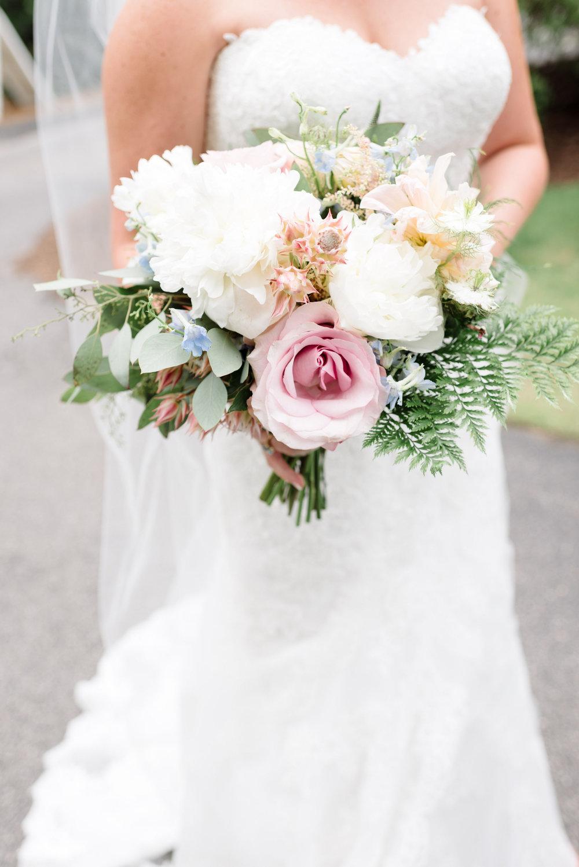 Bowerbird Flowers - bridal bouquet - spring wedding