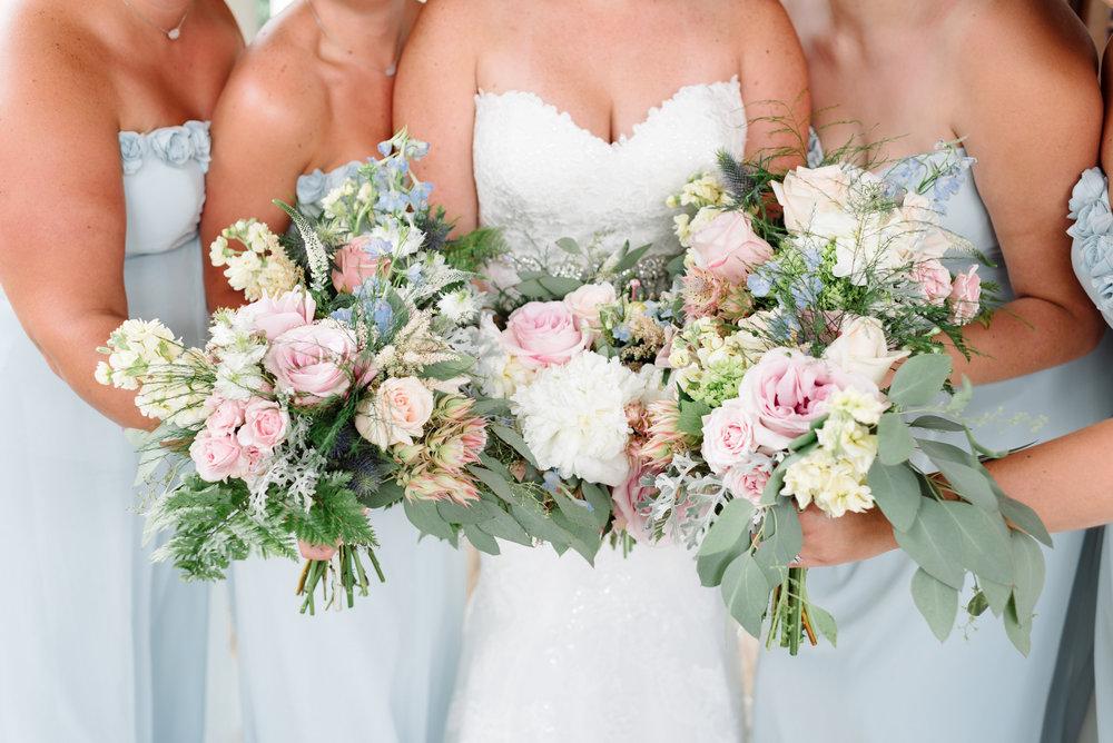 Bowerbird Flowers - bouquets - spring wedding