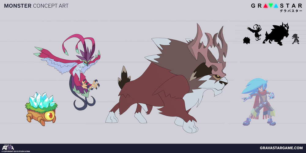 Gravastar Concept Art - Monsters.jpg