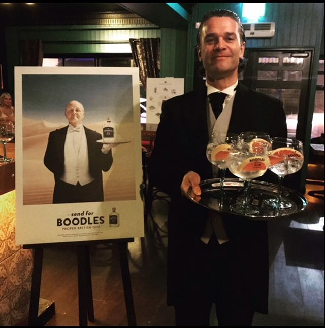 the THURSDAY CLUB will feature a special appearance from the Boodles Gin Butler. He will arrive at 7.30 pm to hand out free samples of Boodles to all in attendance. Coupled with £3.50 pints and 2 for £10 on selected cocktails, why wouldn't you. #boodlesgin #horatiotodds #ginbar #ginsamples #freebies #thursdayclub #cocktails #perfectserves #todds #ballyhackamore
