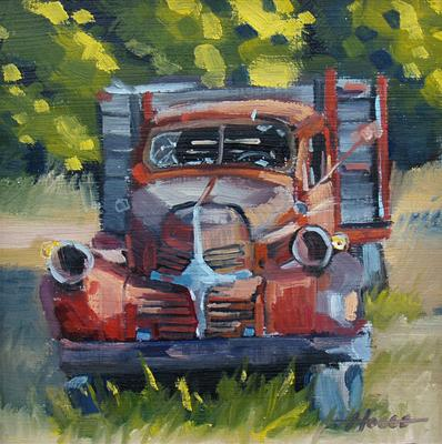 Red Truck - SOLD