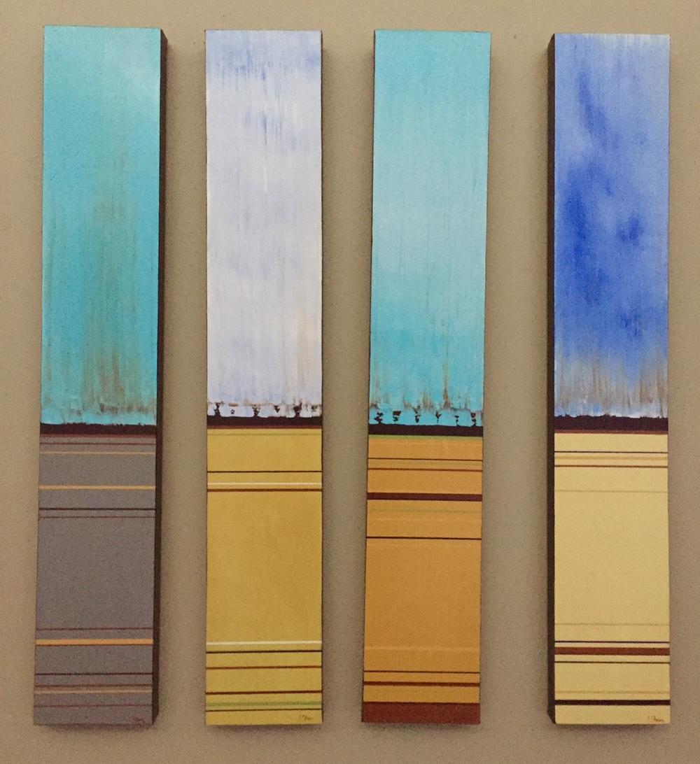 Tall Sky Series   6 x 36 each