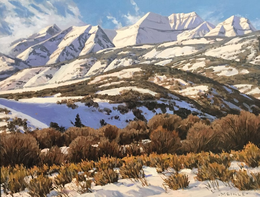 Timp in Winter (SOLD)