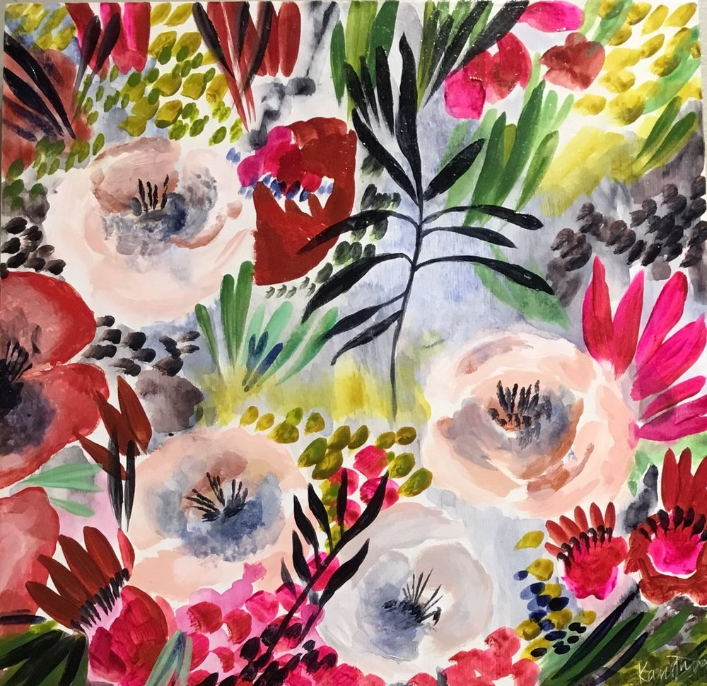 SPRING BLOOMS (SOLD)
