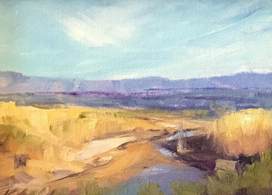 DESERT WATER STUDY (SOLD)
