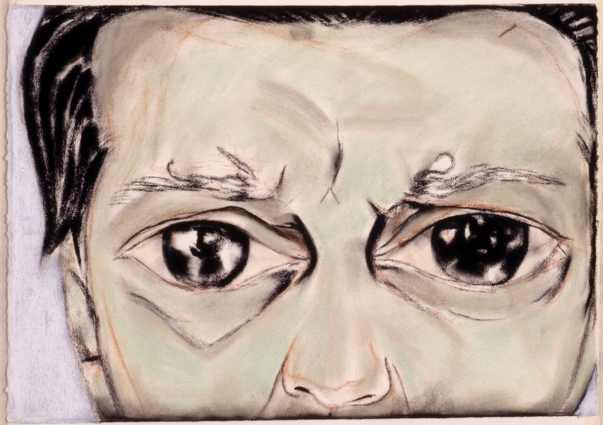 Francesco Clemente, Francesco Pellizzi's Eyes, ca. 1993