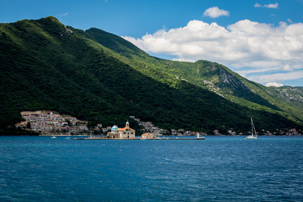 Our Lady of the Rocks, Perast.