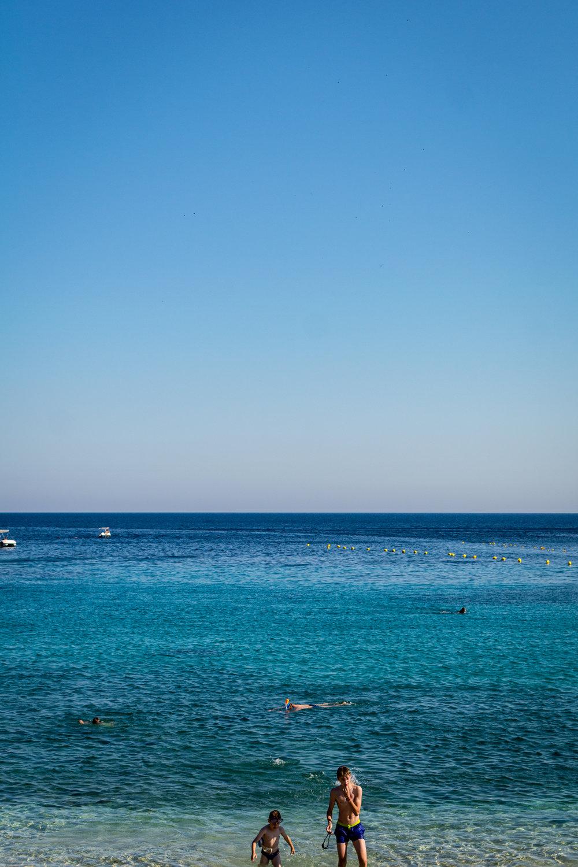 Palaiokastritsa beach, on the Western coast of Corfu.