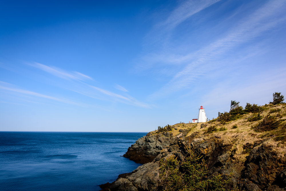 Grand Manan's Swallowtail lighthouse.  Buy Print
