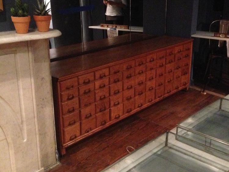 Display Cabinet West Village Nyc Wadaly Design Build Llc