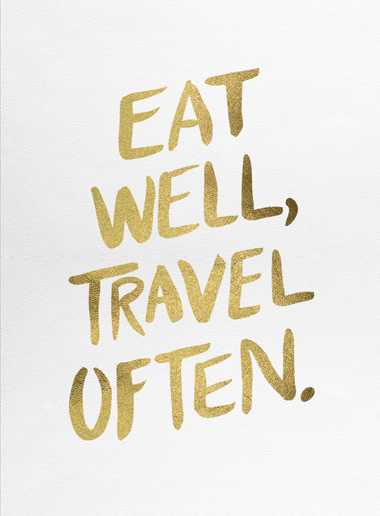 Eat Well, Travel Often available  here .