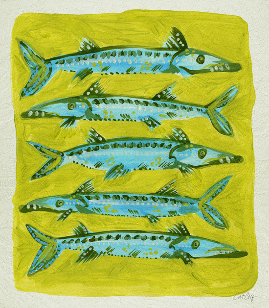 Barracuda on Yellow available  here .