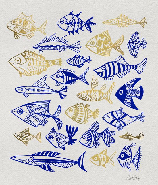 Inked Fish available  here .