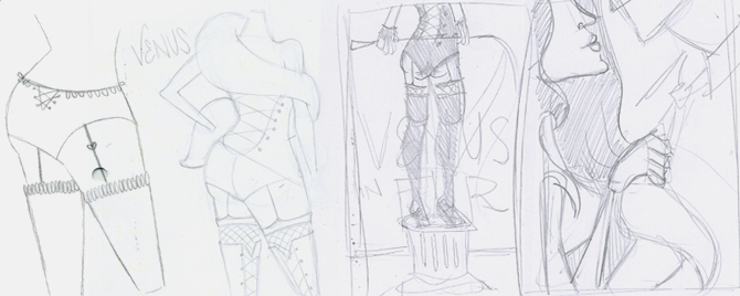 Initial Concept Sketches