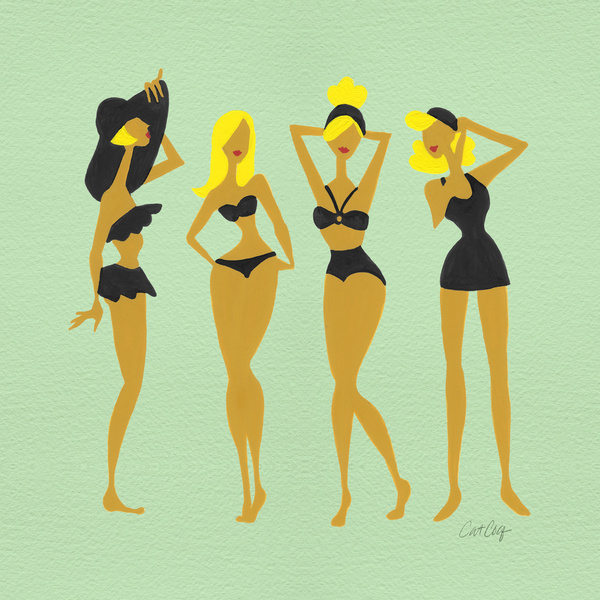 Blonde Bombshells available  here .