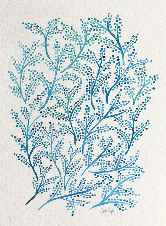 Blue Branches available  here .